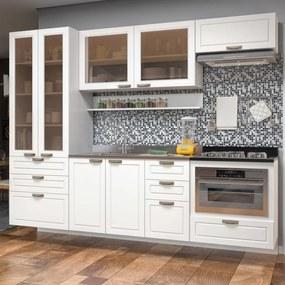 Cozinha Completa 7 peças Americana Multimóveis 5665SMF Branco