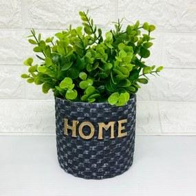 Cachepot Home médio com planta