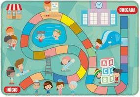 Tapete de Atividades Infantil Babys Único Azul