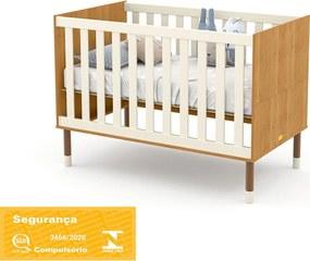 Berço Up Freijó/Off White/Eco Wood Matic Móveis