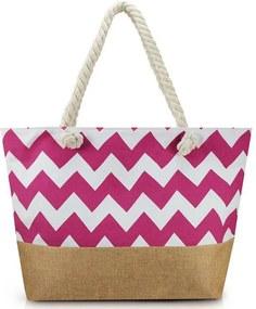 Bolsa de Praia - Rosa - Jacki Design