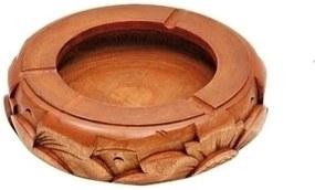 cinzeiro INCA madeira teka 15cm Ilunato RG0055B