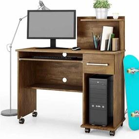 Mesa Para Computador Office Studio Lukaliam Canela
