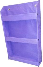 Revisteiro Prateleira porta livro infantil Montessoriano violeta
