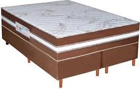 Conjunto Box Ortopédico Ultra Firme Casal Queen Size 158cm - Bom Pastor Unica