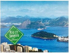 Tela Impressa Vista Rio de Janeiro