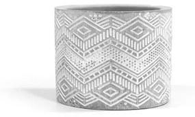 Mini vaso de cimento nativo