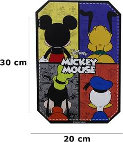 Placa Decorativa Mickey e Amigos