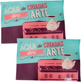 Conjunto Jogo Americano - Obras de Arte