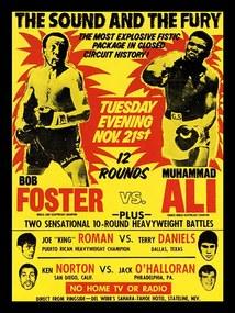 Placa Boxe Foster & Ali Pequena