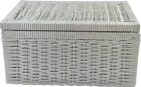 Caixa Organizadora Fibra Sintetica 40x30x20 - Branco