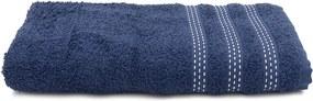 Toalha de Banho Karsten Marcel Azul Marinho