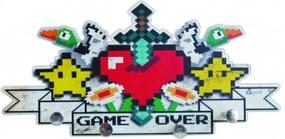 Porta Chaves Bijoux Games 8 Bits para Gamer