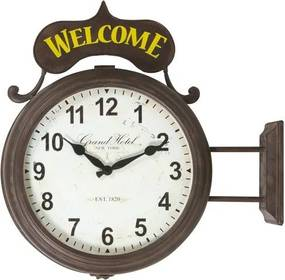 Relógio Decorativo Estação Welcome