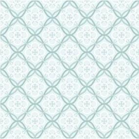 Adesivo Azulejo Floral Verde 289614059