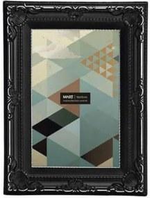 Porta Retrato Retangular Mart Collection 10x15cm Preto
