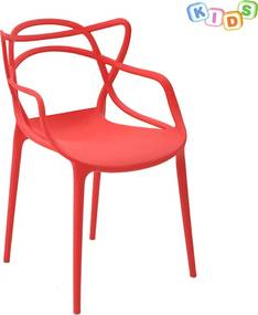 Cadeira Infantil Allegra Masters Vermelha