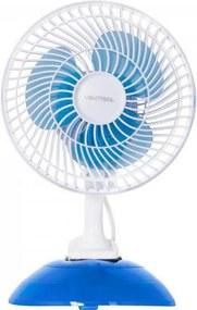 Ventilador de Mesa 127V Nacional MINI20 Azul/Branco VENTISOL