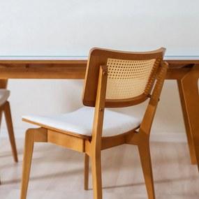Cadeira Caiena em Madeira Maciça