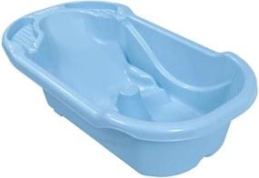 Banheira Ergonômica Safety & Comfort Azul-Bebê Tutti Baby