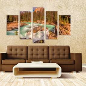 Conjunto de 5 Telas Love Decor Decorativas em Canvas Perfection