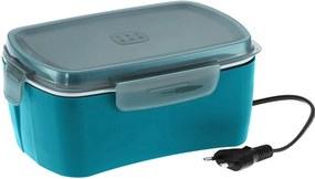 kit marmita eletrica Azul e Cooler bolsa termica POP Rosa