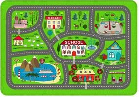Tapete Love Decor de Atividades Infantil Cidade Verde