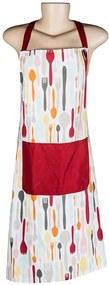 Avental Cuttlery Colors em Algodão - Urban - 80x70 cm