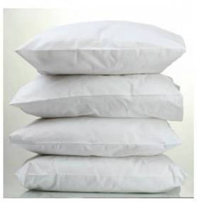 Travesseiro Teka Percal Oasis Para Hotel Profiline 50cm x 70cm