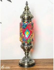 Abajur Decorativo Mosaico Color - Escuro