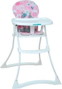 Cadeira de AlimentaçÁo - Bon Appetit Xl - Peixinho Rosa - Burigotto