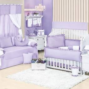 Quarto Completo Padroeira Baby Lolita Roxo