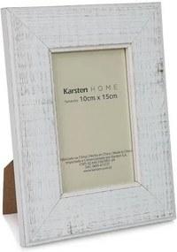 Porta Retrato Madeira 10 x 15 cm - Karsten