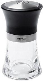 Saleiro/Pimenteiro Brinox Incolor/Preto