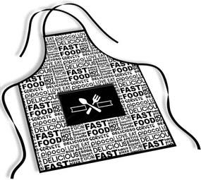 Avental Mdecore Fast Food BrancoÚnico