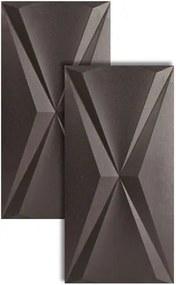 Porcelanato Cubic Steel Iron Retificado 30x60cm - FJH035702 - Roca - Roca
