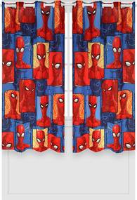 Cortina Lepper Spider Vermelha