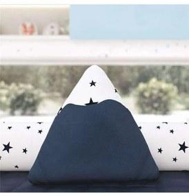 Almofada Azul Marinho Montanha Estrelas 25cm Grão