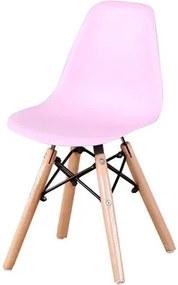 Cadeira INFANTIL Eames Eiffel sem Braco PP Rosa - 53322 Sun House