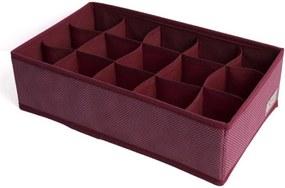 Organizador Recco de Lingerie Vermelho