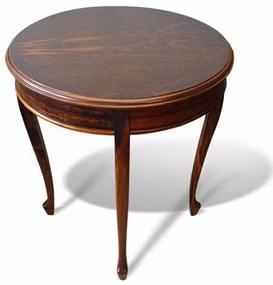 Mesa de Canto Inglesa Madeira Maciça Design Clássico Peça Artesanal