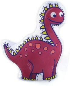 Almofada Meu Primeiro Quartinho Dino Roxo