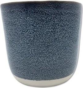 Cachepot Torand em Cerâmica 13,8cm - Azul Escuro