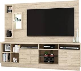 Home Theater Heitor Bege Móveis Madetec