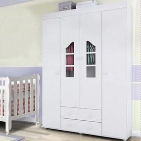 Guarda Roupa Phoenix Baby Isabele Branco