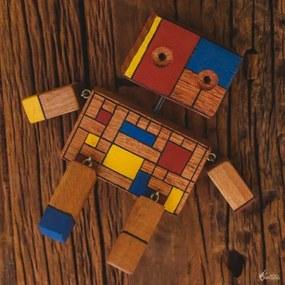 Robô de Brinquedo Geométrico
