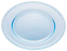 Prato Raso Cristal Pearl Azul Claro 28cm 28424 Wolff