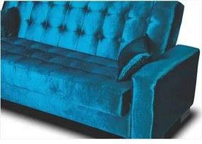 Sofá Cama para Sala de Estar Lisboa Azul 71 - Ibiza