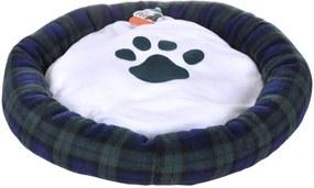 Cama Pet Para Cachorro e Gato Azul 55x55cm - Meu Pet