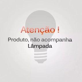 Luminária de Chão em Madeira 152cm Imbuia 1001.03 Trevisan
